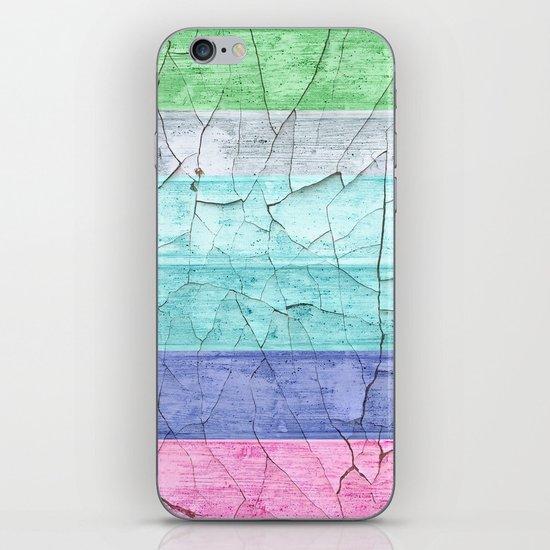 BEACH WOOD iPhone & iPod Skin