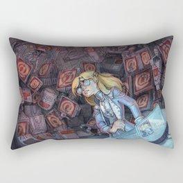 Code Romantic: Mina Poster Rectangular Pillow