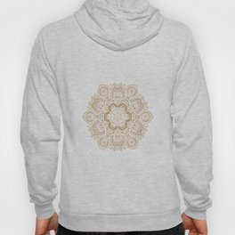 Mandala Temptation in Cream Hoody