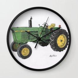 John Deere's 4020 Wall Clock