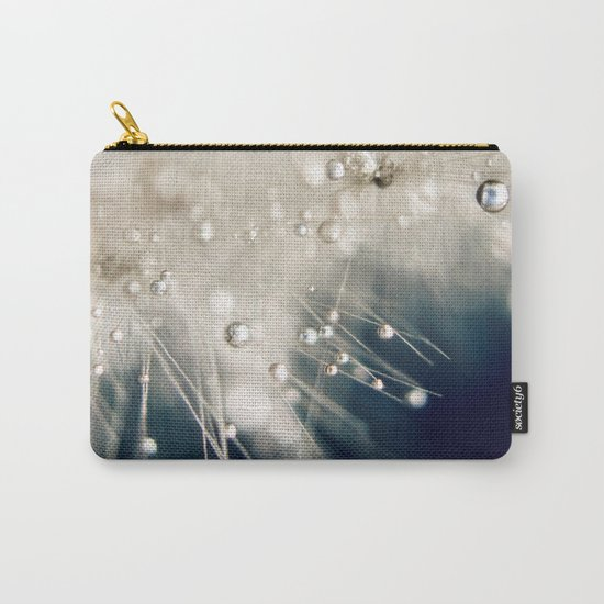 dandelion evening blue Carry-All Pouch