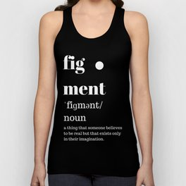 fig·ment Merchandise Unisex Tank Top