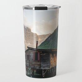 Lago di Braies Travel Mug