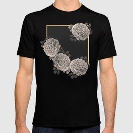 Flowers on a winter night T-shirt