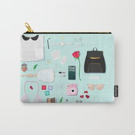 Modern Aphrodite Flat Lay Carry-All Pouch