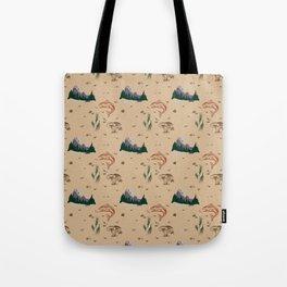 Regional Patterns: Pacific Northwest  Tote Bag