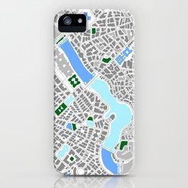 Infinite City - Winter iPhone Case