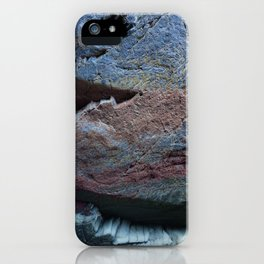 Natural Ocean Weathered Rock Texture iPhone Case