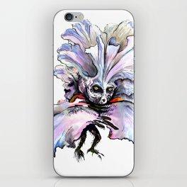 Dark Iris iPhone Skin