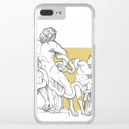 Ancient in new format Clear iPhone Case