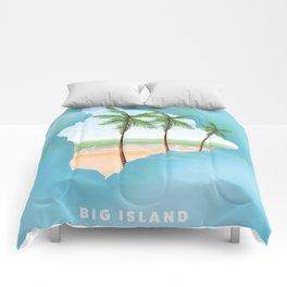 Hawaii Big Island Comforters