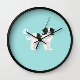 japanese chin farting dog cute funny dog gifts pure breed dogs Wall Clock