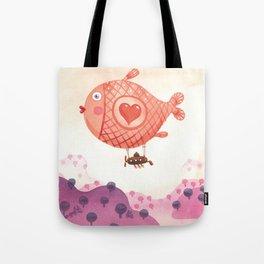 Flying_fish Tote Bag