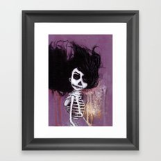骸骨 参 Framed Art Print