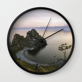 Lake Baikal Wall Clock
