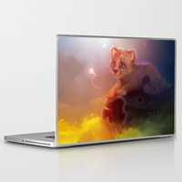 cheetah Laptop & iPad Skins featuring Cheetah by apofiss