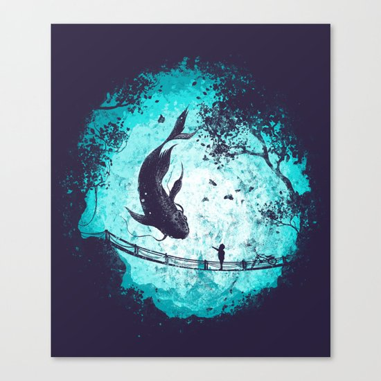 My Secret Friend Canvas Print