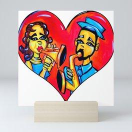 A Musical Love Mini Art Print