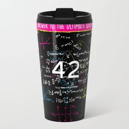 The answer to the ultimate question 42 Travel Mug