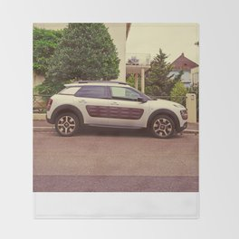 "Citroen C4 Cactus ""White Predator"" Throw Blanket"