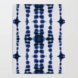 Boho Tie-Dye Knit Vertical Poster