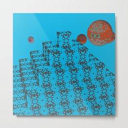 Pyramide Grotesque 21 Metal Print