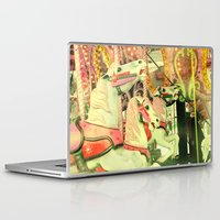 carousel Laptop & iPad Skins featuring Carousel by elle moss