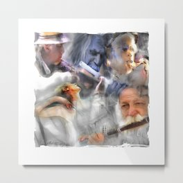 They Came To Play Metal Print