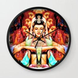 Goddess (2) Wall Clock