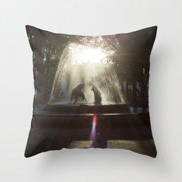 Coyoacan, Mexico City Throw Pillow