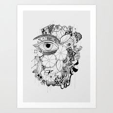 Volví al jardín Art Print