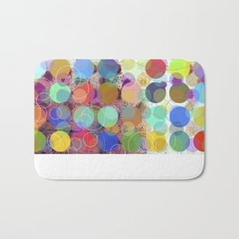 Colorful Dots No. 1 Bath Mat