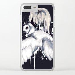 Goblin Owl Clear iPhone Case