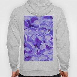 Blue Lilacs by Teresa Thompson Hoody