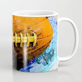 Football ball vs 2 Coffee Mug