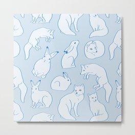 Arctic Pattern Metal Print