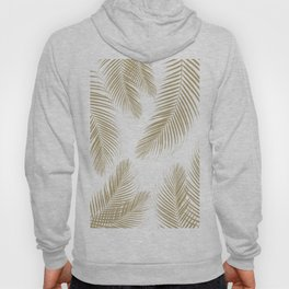 Palm Leaves - Gold Cali Vibes #3 #tropical #decor #art #society6 Hoody