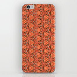 Autumn Leaves Close Up patterned (version 2) iPhone Skin