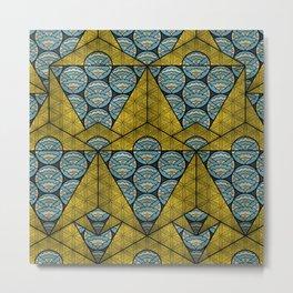 Sacred Geometry - Octahedron Air Metal Print