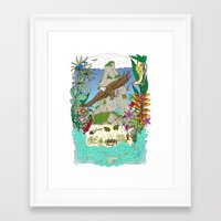 thailand Framed Art Prints featuring Thailand by Matt Johnstone