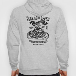 the legend of speed Hoody
