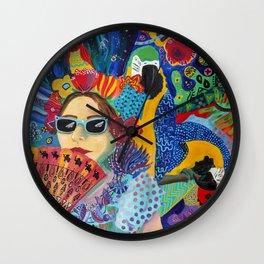 A Guarded Heart Wall Clock