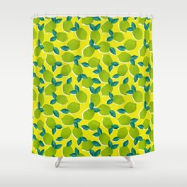Limes for daysss Shower Curtain