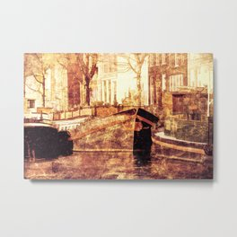 Old Amsterdam Metal Print