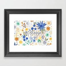 Rossana Framed Art Print