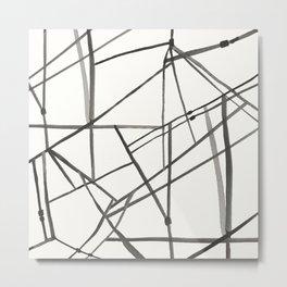 Muni Lines Metal Print