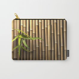 Bamboo Wall Carry-All Pouch