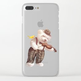 A Song For You Clear iPhone Case