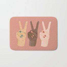 Peace Sign Bath Mats For Any Bathroom