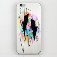 lightning iPhone & iPod Skins featuring Lightning by Kelsey Brooks